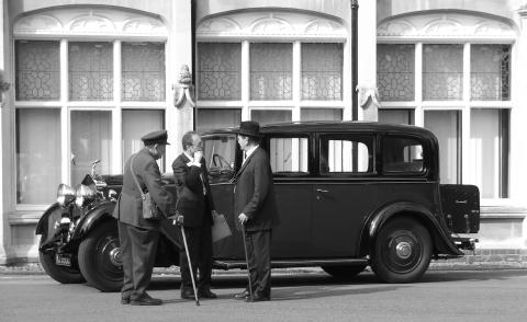 Winston Churchill's Rolls Royce