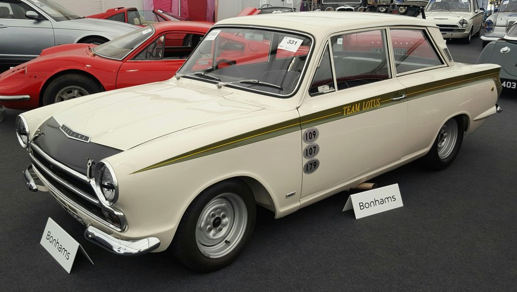 1965 Ford Lotus Cortina Mk1 Competition Saloon
