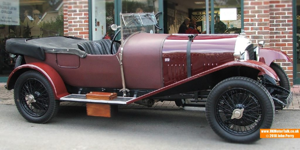 William Medcalf Vintage Bentley Drive Out January 2018