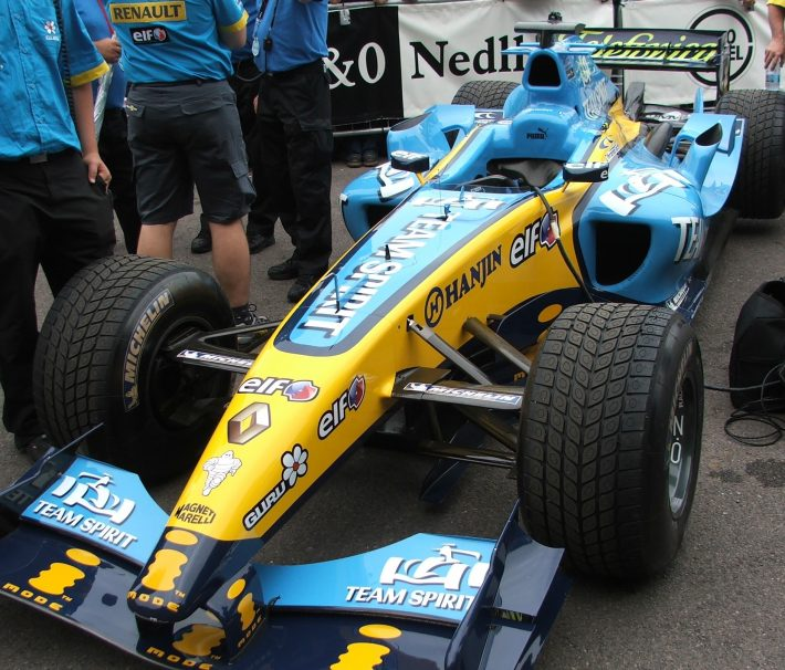 Renault F1 at Festival of Speed 2005