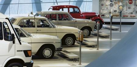 Mercedes-Benz Museum - Collections
