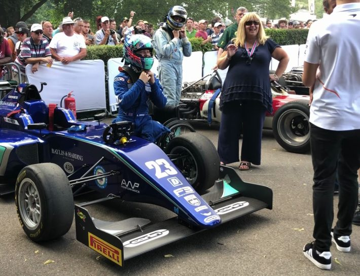 Billy Monger at FoS18