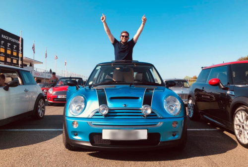 Mike celebrates all that is mini