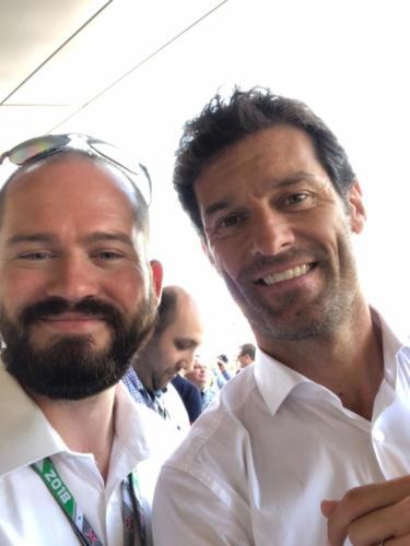 Jim and Mark Webber