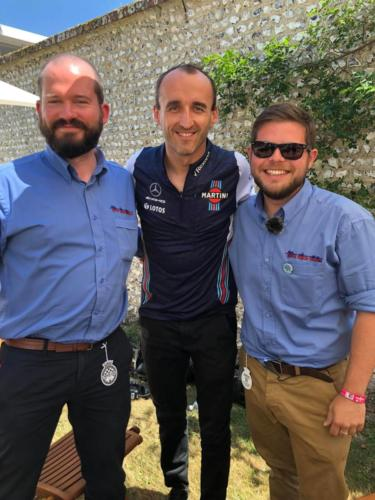Jim with Robert Kubica and Gates!